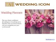 Wedding Icon best Wedding planner, Wedding Planners in India