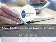 PJM Paraplanning and Consultancy Services Ltd Presentations