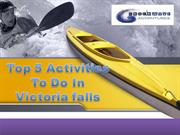 Top 5 Activities To Do In Victoria falls