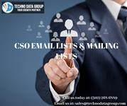 CSO Email Lists and Mailing Lists