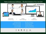 Video Conference Software The Best Solutions You Can Get!