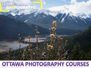 How to get career on photography  learn photography in Ottawa