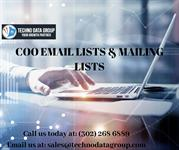 COO Email Lists and Mailing Lists