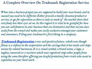 A Complete Overview On Trademark Registration Service