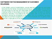 Customer relationship management CRM Softwares