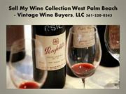Sell My Wine Collection Fort Lauderdale FL