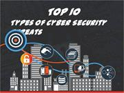 Top 10 Types of Cyber Security Threats