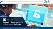 10 Open Source Security Testing Tools to Test Your Website