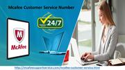 Mcafee Customer Service Number | Download And Install Antivirus