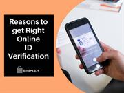 Reasons to get Right Online ID Verification