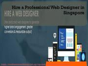 Hire a Professional Web Designer in Singapore