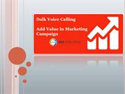 Voice Call Bulk SMS Provider in India