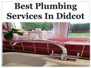 Best Plumbing Services In Didcot