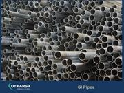 Leading manufacturer of  IS certified GI Pipes