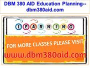 DBM 380 AID Education Planning--dbm380aid.com