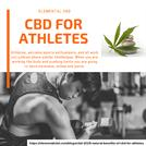 cbd for athletes | Elemental CBD