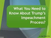 What You Need to Know About Trump's Impeachment Process?