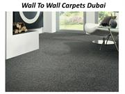 Wall To Wall Carpets Dubai