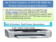 Hp Printer Solution +1-855-536-5666 Hp Printer Technical Support Numbe