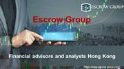 Escrow Group Hong Kong | Financial Advisors and Analysts Hong Kong