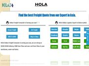 Shipping from China to UK - www.holaintl.com
