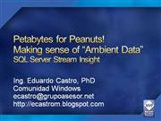 SQL Server Stream Insight