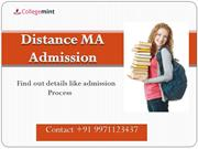 Distance MA Admission Top Universities For Distance MA