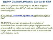 Types Of Trademark Applications That Can Be Filed