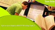 Tips to score high in IELTS Writing Task 2