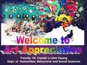 The Art Appreciation Class Day 1 - Welcome from Xena Crystal LC Huang