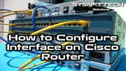 Cisco Router Interface Configuration With GNS3