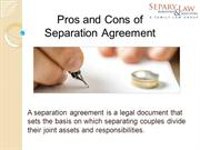 Separation Agreement Toronto