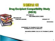 7. Drug-Excipient compatibility Study ma