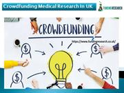 Crowdfunding Medical Research In UK