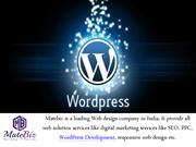 Need for WordPress Development Company in India