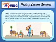 Packing Services Etobicoke