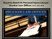 Boynton Beach Injury Attorney