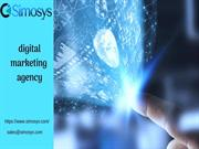 Top-rated digital marketing agency Simosys!