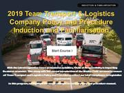 I spring - TEAM Policy and Procedure 1DC - 2 Sept 19