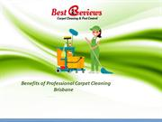 Hire best carpet cleaning Brisbane