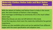 Maternity clothes online India and Best Online Maternity store