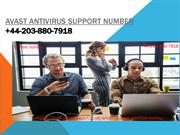 Avast Antivirus Support Number