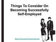 Refund Consulting Program Reviews | Become Successful Self Employed
