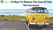 How Can You Save With Compare Market Insurance Van Insurance?