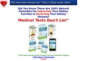 (PDF) All Natural Kidney Health Function Restoration Program