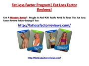 Fat Loss Factor|Fat Loss Factor Reviews