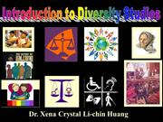 Diversity studies Day 1 welcome notes from Dr. Xena LCH