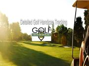 Golf Analysis Software of Your Golf Scores
