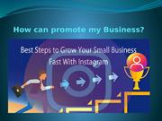 Business promoters through instalikes