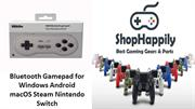 8Bitdo SN30 GP Bluetooth Gamepad for Windows Android macOS Steam Ninte